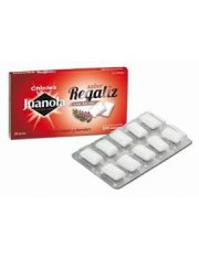 Juanola chicle regaliz 10 chicles 14 g