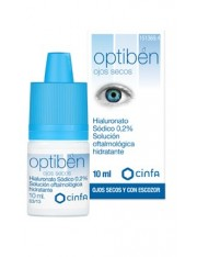 Optiben gotas sequedad ocular 10 ml cinfa lagrimas ojos secos