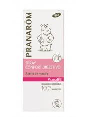 Pranarom quimiotipado pranabb spray confort digestivo aceite de masaje bebe + 3 kg 15 ml