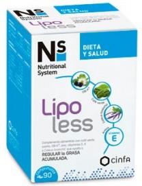 Ns lipoless 90 Comprimidos cinfa