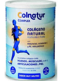 Colnatur Complex Colágeno + Magnesio + Vitamina C Sabor Neutro 330 gr