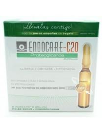 ENDOCARE C20 PROTEOGLICANOS 2ML 30 AMPOLLAS + PORTA AMPOLLAS