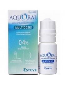 AQUORAL GOTAS HUMECTANTES HIALURONICO 0.4% OJOS SECOS MULTIDOSIS 10 ML