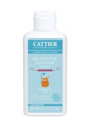 Cattier niño gel de ducha suave 200 ml