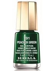 MAVALA LACA PEACOcK GREEN COLOR 191 DE 5 ML