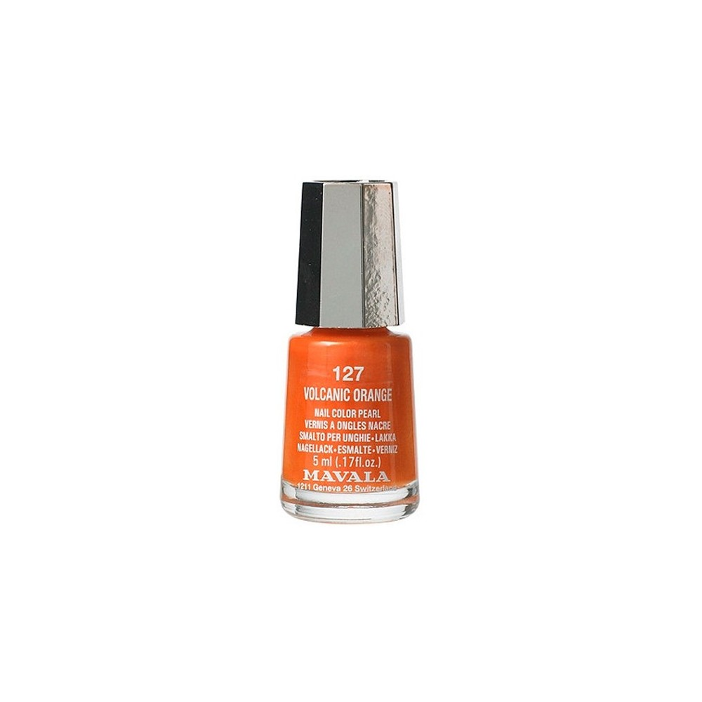 MAVALA LACA VOLCANIC ORANGE COLOR 127 DE 5 ML