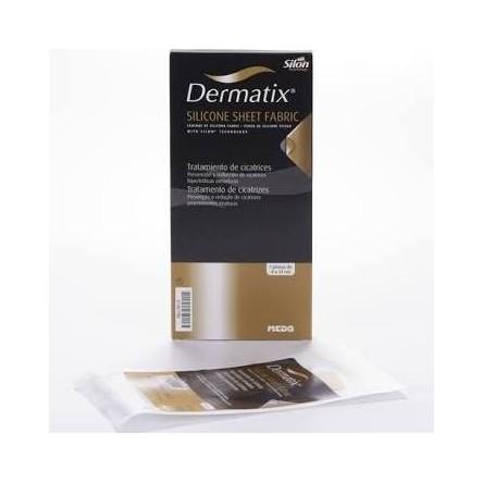 Dermatix lamina de silicona fabric color carne 4x13 cm