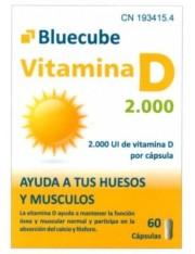 VITAMINA D 2000 BLUECUBE 60 CAPSULAS
