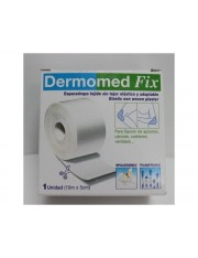 Dermomed esparadrapo hipoalergico fix 10m x 5 cm