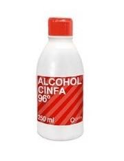 Cinfa alcohol 96º 250 ml