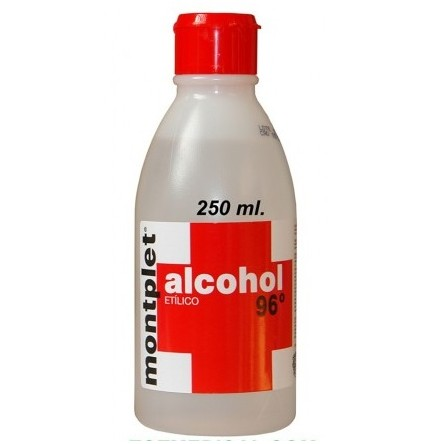 MONPLET ALCOHOL 96º 250 ML