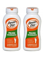 Devor olor Polvos Desodorante 2 x 100g