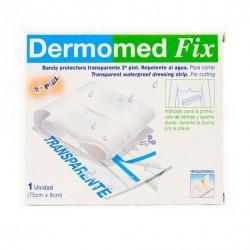 Dermomed tiras adhesivas fix segunda piel banda 75 cm x 8 cm