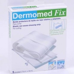 Dermomed tiras adhesivas fix tira tejido 75 cm x 8 cm