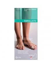 Protector tubular dedos gel de silicona farmalastic dedos grandes (diametro del dedo 3.3 cm) cinfa