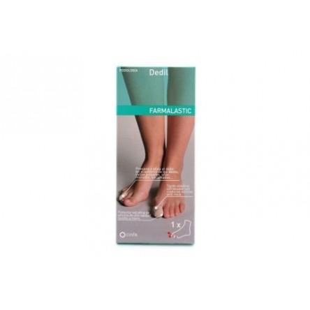 Dedil gel de silicona farmalastic dedos medianos (diametro del dedo 2.6 cm) cinfa