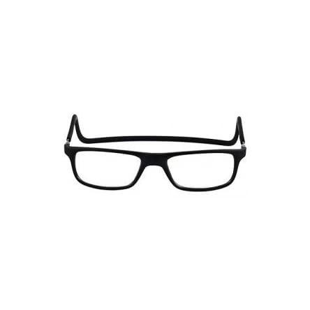 Gafas presbicia nordicvision tratamiento antireflejante cierre iman NEGRA graduacion +3,50