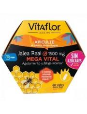 Vitaflor jalea real mega vital ampollas bebibles 20 ampollas