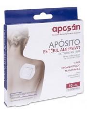APOSAN APOSITO ADHESIVO ESTERIL TEJIDO SIN TEJER 10 X 10 CM 10 UNIDADES