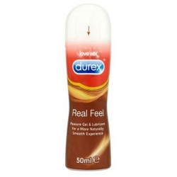 Durex real feel pleasure gel vaginal 50 ml