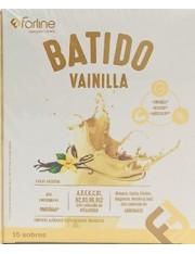 BATIDO VAINILLA FARLINE PROTEINAS VITAMINA Y MINERALES 15 SOBRES 450 G