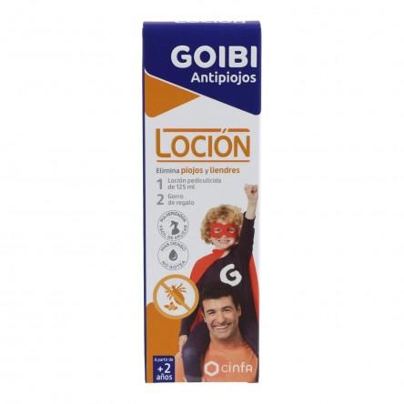 Goibi elimina locion antiparasitario 125 ml cinfa