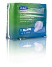 Alvita absorbente incontinencia orina ligera mens 14 unidades