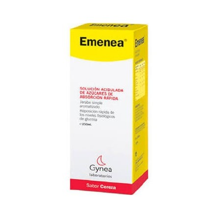 Emenea jarabe simple aromatizado cereza 250 ml