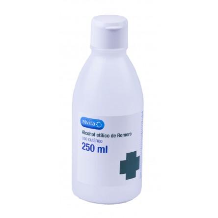 Alvita alcohol de romero etilico 96º 250 ml