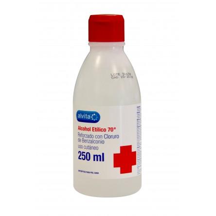 Alvita alcohol etilico desnaturalizado 70º piel sana