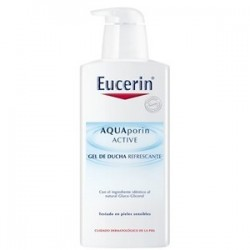 Eucerin aquaporin active gel de ducha refrescante 400 ml