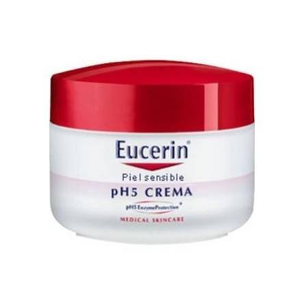 Eucerin crema tarro piel sensible ph-5 100 ml