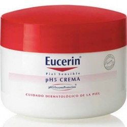 Eucerin crema tarro piel sensible ph-5 75 ml