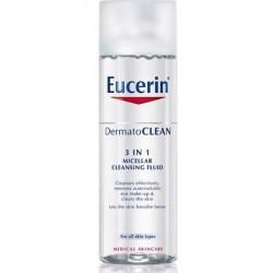 Eucerin dermatoclean 3 en 1 sol micelar limpiador 200 ml
