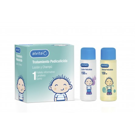 Alvita antipiojos tratamiento completo locion 150 ml + champu 150 ml