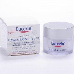 Eucerin hyaluron filler antiarrugas dia 50 ml.