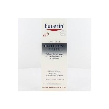 Eucerin hyaluron filler antiedad crema de dia para pieles normal/mixta de 50 ml