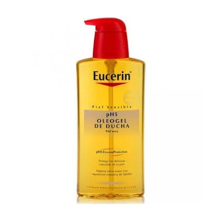 Eucerin oleogel de ducha ph-5 piel sensible 200 ml