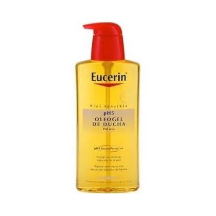 Eucerin oleogel de ducha ph-5 piel sensible 400 ml