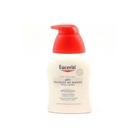Eucerin oleogel manos piel sensible 200 ml