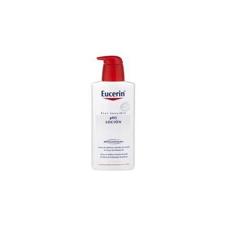 Eucerin piel sensible locion intensiva con dosificador 1000 ml