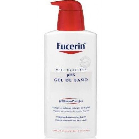 Eucerin piel sensible ph-5 gel de baño 200 ml