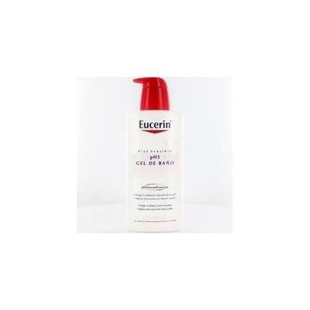 Eucerin piel sensible ph-5 gel de baño 400 ml