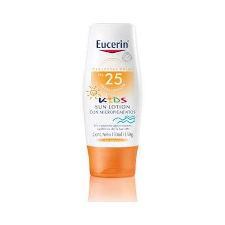 Eucerin sun protection 25 kids sun lotion microp 150 ml