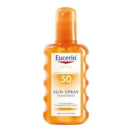 Eucerin sun protection 50 spray transparente 200 ml