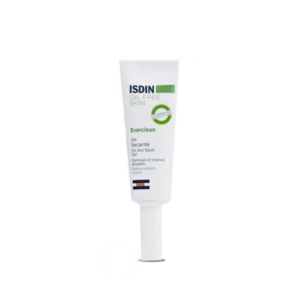 Everclean isdin oil free skin gel secante on the 10 ml