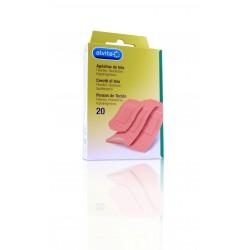 Alvita aposito adhesivo tela 20 unidades