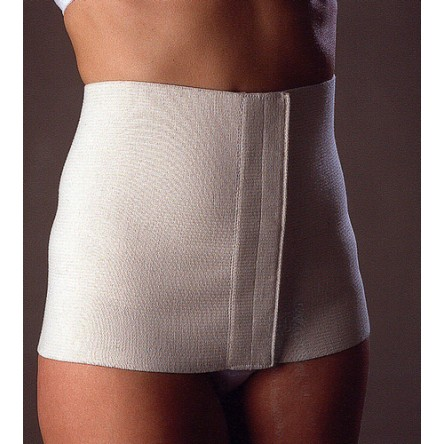 Faja abdominal algodón blanca fj160 talla-s 75-95 cm