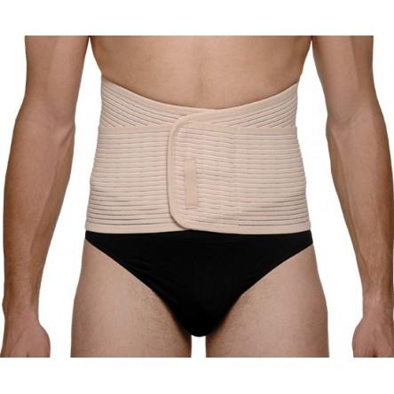 Faja abdominal reforzada medilast beige contorno de cintura 80-85 cm t- mediana