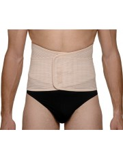 Faja abdominal reforzada medilast beige contorno de cintura 95-115 cm t- grande